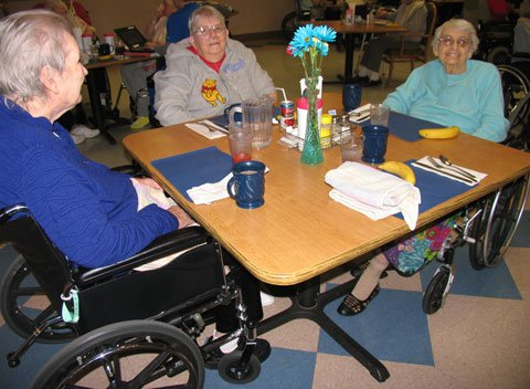 CentraCare Health-Monticello's Five Meal a Day Plan provides residents with flexible meal times and food choices.