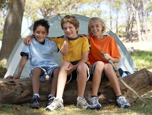 Prepare your child for camp to help make your child feel more secure