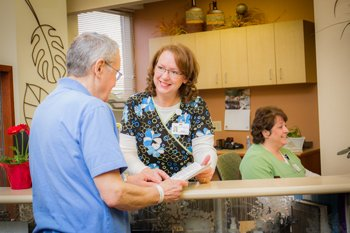 The Monticello Cancer Center believes in care to support the whole person. Every patient is welcomed to the Monticello Cancer Center by friendly staff.