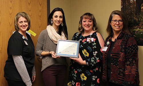 CentraCare Clinic – Big Lake is proud to be recognized by the Minnesota Department of Health and the Minnesota Breastfeeding Coalition as a Breastfeeding Friendly Workplace.