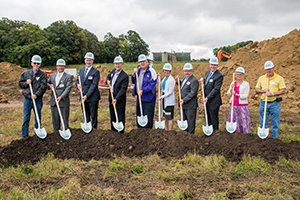 Todd County area residents are one step closer to having access to a community facility focused on preventative health and wellness. A ceremonial groundbreaking was held on Aug. 28, 2018.