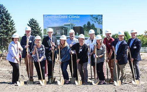 Albany clinic groundbreaking