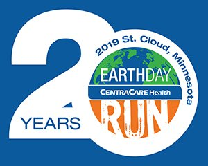 Earth Day 20 Years Logo