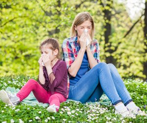 High pollen levels can be serious for those with asthma.