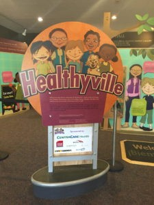 Healthyville at the Stearns County Museum.