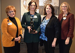St. Cloud Hospital Nurse Receives National Nursing Award for Patient Flow