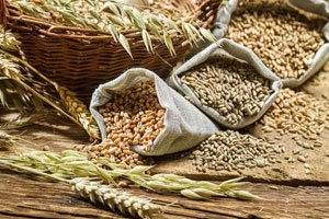 The average American eats less than one serving of whole grains a day.