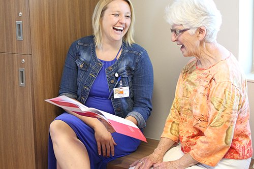 CentraCare Health – Monticello's Geriatric Behavioral Health Unit provides a confidential and safe environment for patients to receive care.