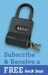 Subscribe & Receive a FREE lock box.