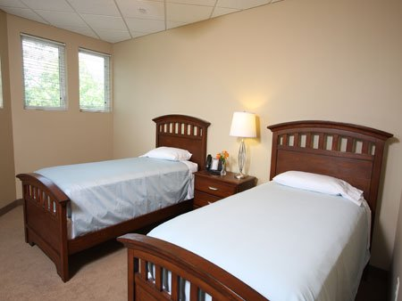 Guest Room - enjoy a private room and guest room equipped with localized thermostats.